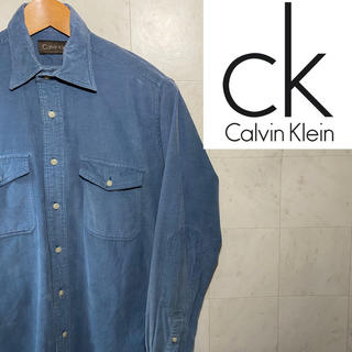 カルバンクライン(Calvin Klein)のCalvin Klein カルバンクライン コーデュロイシャツ エルボーパッチ(シャツ)