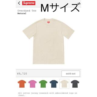 シュプリーム(Supreme)のSupreme Overdyed Tee Mサイズ(Tシャツ/カットソー(半袖/袖なし))
