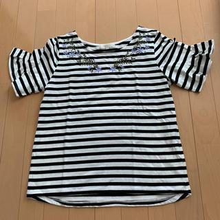 グローブ(grove)のgrove 刺繍 シャツ(Tシャツ(半袖/袖なし))