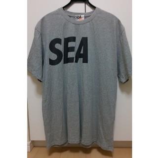 シー(SEA)のwind and sea madness Tシャツ グレー 美品(Tシャツ/カットソー(半袖/袖なし))