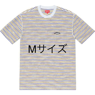 シュプリーム(Supreme)のStripe Thermal S/S Top Mサイズ(Tシャツ/カットソー(半袖/袖なし))