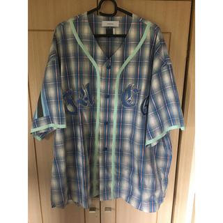 ファセッタズム(FACETASM)の18ss FACETASM   ファセッタズムベースボールシャツ 半袖(シャツ)