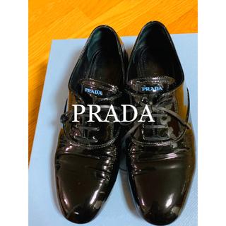 プラダ(PRADA)の💕 美品 PRADAパテントレザーシューズ💕(ローファー/革靴)