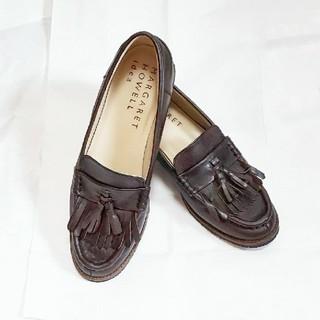 マーガレットハウエル(MARGARET HOWELL)のマーガレットハウエル タッセル ローファー 22.5cm(ローファー/革靴)