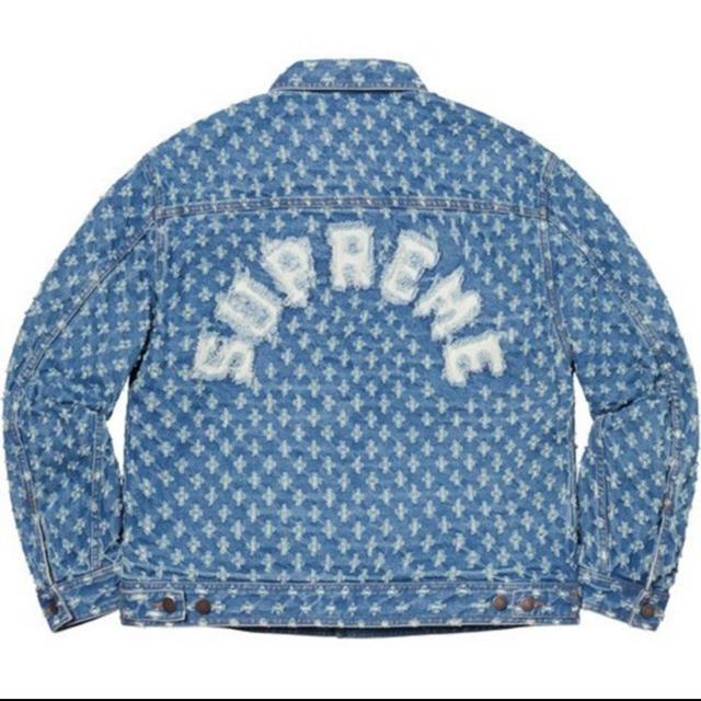 Supreme(シュプリーム)のHole Punch Denim Trucker Jacket メンズのジャケット/アウター(Gジャン/デニムジャケット)の商品写真