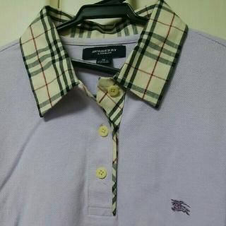 バーバリー(BURBERRY)のBURBERRY レディース M ポロシャツ(ポロシャツ)