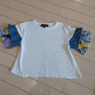 マーキーズ(MARKEY'S)のグラニーブランケット  アジアンTシャツ 100cm(Tシャツ/カットソー)