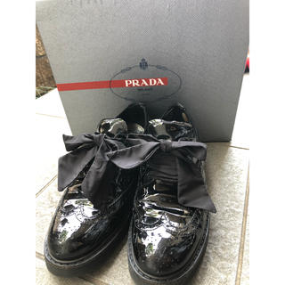 プラダ(PRADA)のプラダ レースアップシューズ(ローファー/革靴)