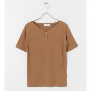 センスオブプレイスバイアーバンリサーチ(SENSE OF PLACE by URBAN RESEARCH)のSENSE OF PLACE ヘンリーネックTシャツ(5分袖)(Tシャツ(半袖/袖なし))