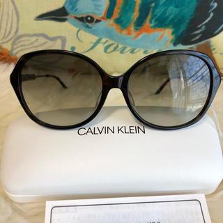 カルバンクライン(Calvin Klein)の新品 カルバンクライン サングラス べっ甲(サングラス/メガネ)