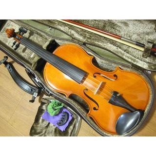スズキ(スズキ)の【良杢良鳴】 国産バイオリン SUZUKI No.330 4/4 付属品セット(ヴァイオリン)