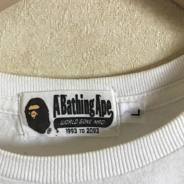A BATHING APE(アベイシングエイプ)のエイプTシャツ親子コーデセット キッズ/ベビー/マタニティのキッズ服男の子用(90cm~)(Tシャツ/カットソー)の商品写真
