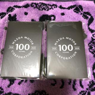 マツダ(マツダ)のRIN♪  マツダ100周年記念 メモ帳2冊(ノベルティグッズ)