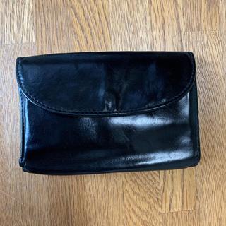 ホワイトハウスコックス(WHITEHOUSE COX)のWHITEHOUSE COX 黒色(折り財布)