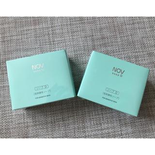 ノブ(NOV)の新品未使用☆NOV ソープD  2個セット(ボディソープ/石鹸)