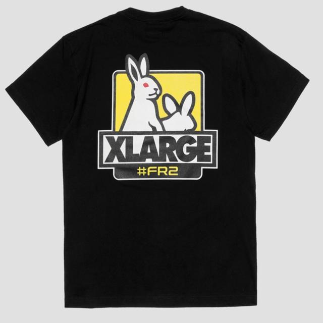 XLARGE(エクストララージ)のfr2  xlarge fxxk icon tee 黒 L メンズのトップス(Tシャツ/カットソー(半袖/袖なし))の商品写真