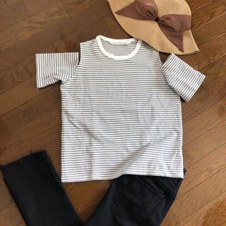 ルカ(LUCA)のLUCA/LADY LUCK LUCA 肩あきTシャツ(Tシャツ(半袖/袖なし))