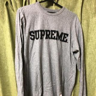 Supreme - 連休特価!SUPREME 長袖Tシャツ グレー Lサイズ
