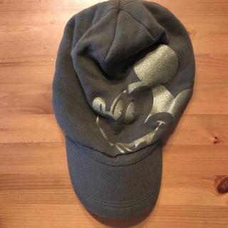 ディズニー(Disney)のキャンプ 帽子(ミッキー)(キャップ)