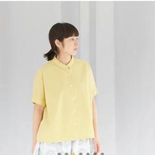 ミナペルホネン(mina perhonen)のミナペルホネン matinne襟つきシャツ(Tシャツ(半袖/袖なし))