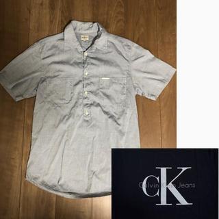 カルバンクライン(Calvin Klein)のカルバンクライン メンズ 半袖シャツ 美品 価格交渉ok(シャツ)