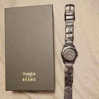 タイメックス(TIMEX)のチャゲ様専用 TIMEX safari BEAMS別注 all black(腕時計(アナログ))