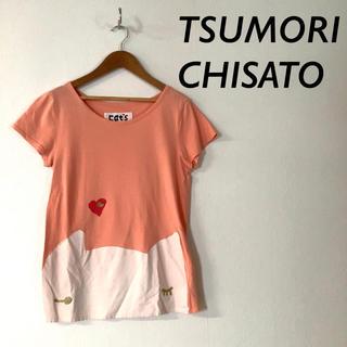 ツモリチサト(TSUMORI CHISATO)のTSUMORI CHISATO CAT'S キャット プリント 半袖 Tシャツ(Tシャツ(半袖/袖なし))