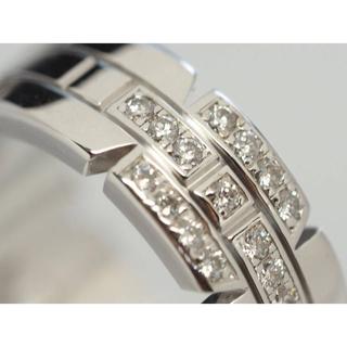 カルティエ(Cartier)の質屋出品kk Cartier カルティエ タンクフランセーズダイヤモンドリング(リング(指輪))
