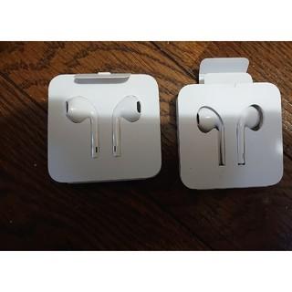 iPhoneイヤホン(ヘッドフォン/イヤフォン)