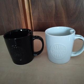 タリーズコーヒー(TULLY'S COFFEE)のTULLY'S タリーズコーヒー マグカップ 白・黒 スプーンスタンド(グラス/カップ)