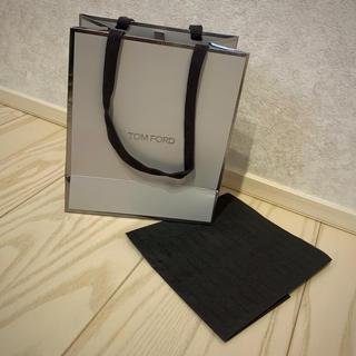 トムフォード(TOM FORD)のトムフォードビューティー ショップ袋 包紙付(ショップ袋)