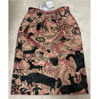 ヴィヴィアンウエストウッド(Vivienne Westwood)のヴィヴィアン ウエストウッド 新品タイトスカート(ひざ丈スカート)