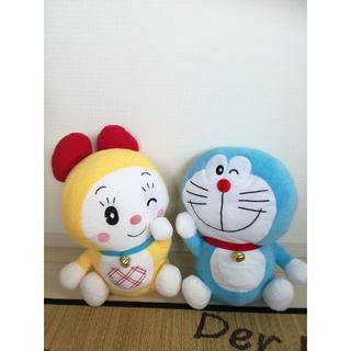 タイトー(TAITO)のドラえもん&ドラミちゃんのぬいぐるみ(ぬいぐるみ/人形)