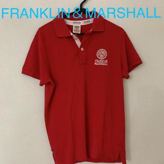 フランクリンアンドマーシャル(FRANKLIN&MARSHALL)の58  FRANKLIN&MARSHALL レッド ポロシャツ(ポロシャツ)