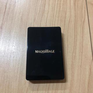 マキアージュ(MAQuillAGE)の資生堂 マキアージュ 付属スポンジのみ ケース入り ファンデーションパフ(パフ・スポンジ)
