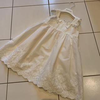 トッカ(TOCCA)のTOCCA コットンレースワンピース チュニック(ドレス/フォーマル)