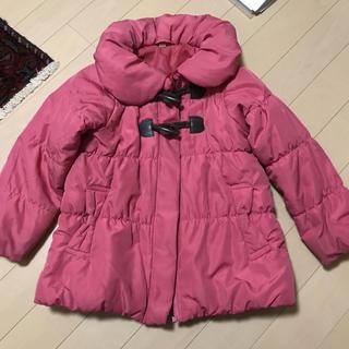 ニシマツヤ(西松屋)の西松屋購入 キッズ110 ダウンジャケット ピンク(ジャケット/上着)