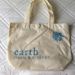 アースミュージックアンドエコロジー(earth music & ecology)のearth ショップバック(ショップ袋)