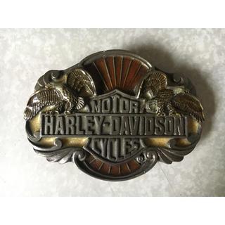 ハーレーダビッドソン(Harley Davidson)の《ハーレーダビッドソン》ベルトバックル(ベルト)
