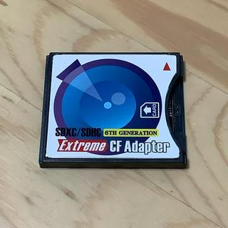 CFカード変換アダプター SDカードからCFへ 6th Generation(PC周辺機器)