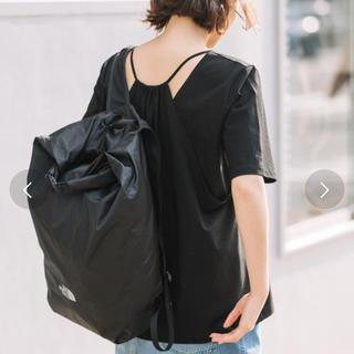 アウィーエフ(AuieF)のタグ付き♡バックレイヤードTシャツ(Tシャツ(半袖/袖なし))