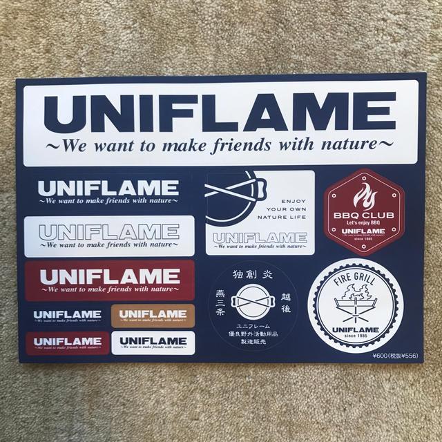 UNIFLAME(ユニフレーム)のuniflame ユニフレーム ステッカー スポーツ/アウトドアのアウトドア(その他)の商品写真