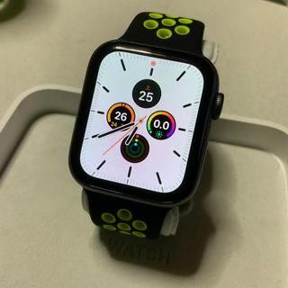 アップルウォッチ(Apple Watch)の(箱なし) Apple Watch series4 44mm GPS(腕時計(デジタル))