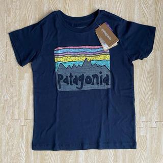 patagonia - 値下げ【新品未使用】パタゴニア  4T ネイビー
