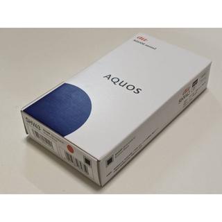 アクオス(AQUOS)の新品未使用 au AQUOS sense2 SHV43 ブラック SIMロック解(スマートフォン本体)