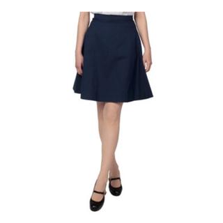 ヴィヴィアンウエストウッド(Vivienne Westwood)の美品ヴィヴィアンウエストウッドタイプライタークロスフレアスカート(ひざ丈スカート)