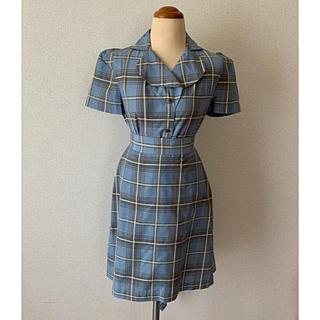 ヴィヴィアンウエストウッド(Vivienne Westwood)の美品ヴィヴィアンウエストウッドライクアパトリックチェックスカート (ひざ丈スカート)