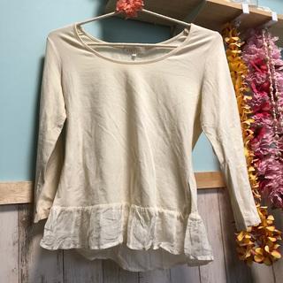クミキョク(kumikyoku(組曲))の組曲 フリル付きTシャツ(Tシャツ/カットソー(七分/長袖))