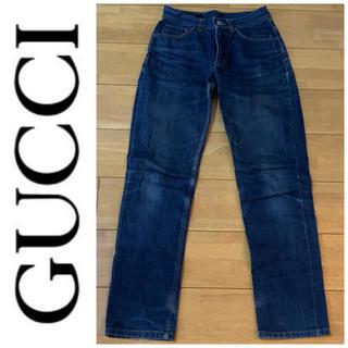 グッチ(Gucci)のGUCCI グッチ デニム ジーンズ パンツ ボトムス 40 レディース ブルー(デニム/ジーンズ)