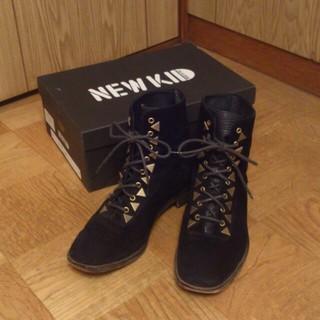 NEW KID*ショートブーツ(ブーツ)
